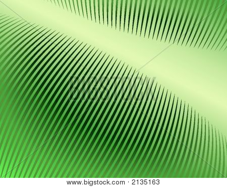Abstract editable vector design of comb pattern poster