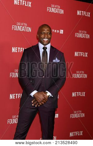 LOS ANGELES - NOV 9:  Terry Crews at the Patron of the Artists Awards 2017 at Wallis Annenberg Centeron November 9, 2017 in Beverly Hills, CA