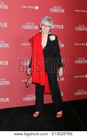 LOS ANGELES - NOV 9:  RIta Moreno at the Patron of the Artists Awards 2017 at Wallis Annenberg Centeron November 9, 2017 in Beverly Hills, CA