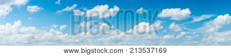 The vast blue sky and clouds sky. blue sky background with tiny clouds. blue sky panorama. blue sky beautiful. blue sky and cloud wallpaper. blue sky and cloud nature.