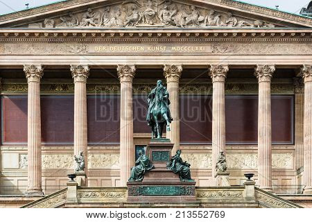 Statue Of Frederick William Iv Of Prussia