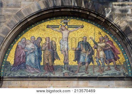 Outdoor Wall Decor Of Bremen Cathedral
