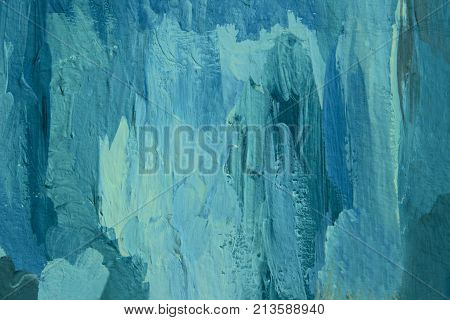 Wall texture grunge background with a lot of copy space. Abstract background, blue colors. Colorful abstract painted background. Colorful Wall Texture.