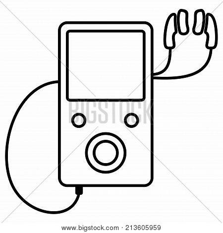 Audio Music MP3 Player Digital Portable Earphones Headphones