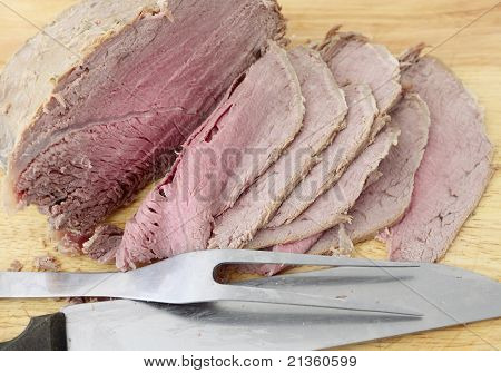 Boiled Beef Slices