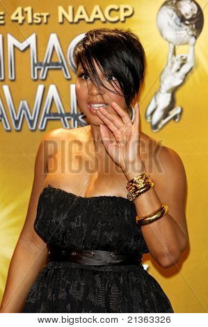LOS ANGELES - FEB 26: Toni Braxton in the press room at the 41st NAACP Image Awards - held at the Shrine Auditorium in Los Angeles, California on February 26, 2010