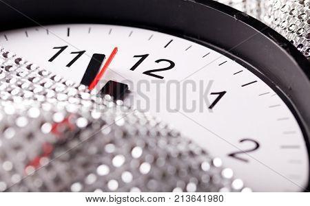 twelve o'clock - new year's eve