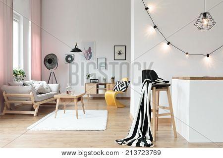 Warm And Comfy Loft Interior