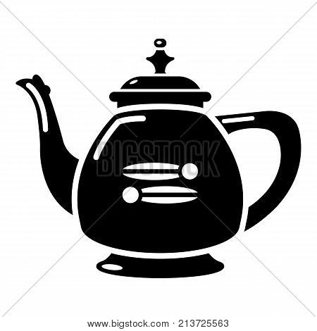 Kettle restaurant icon. Simple illustration of kettle restaurant vector icon for web