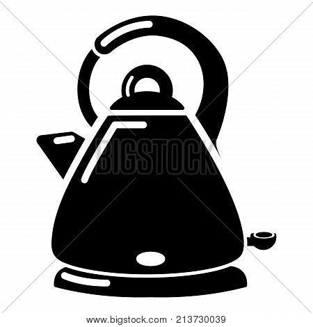 Kettle electric icon. Simple illustration of kettle electric vector icon for web