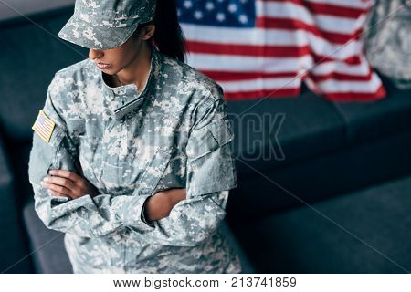 Soldier With Crossed Arms