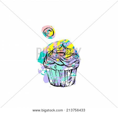 Hand Drawn Vector Vector Photo Free Trial Bigstock