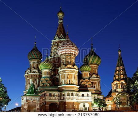 The famous Cathedral of St. Basil the Blessed