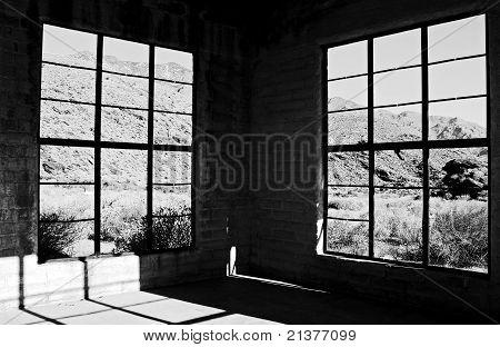 Abandoned Desert Building