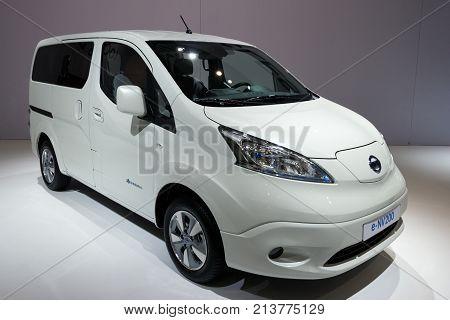 Nissan E-nv200 Electric Mpv