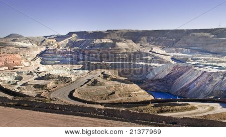 Copper Mines At The Desert