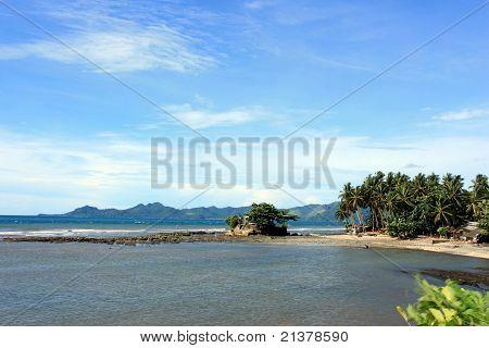 A coastline