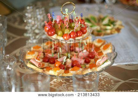 pintxos, tapas, spanish canapes party finger food