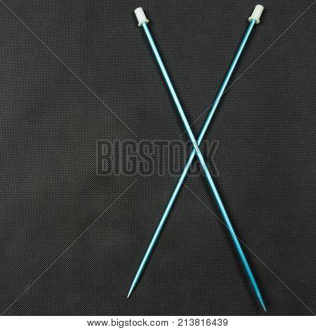 Metal Knitting Needles.