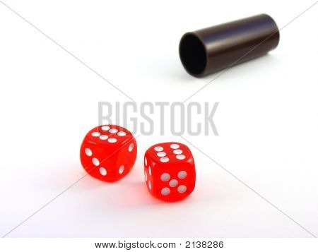 Dice And Shaker