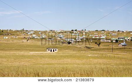 Shacks in Transkei South Africa