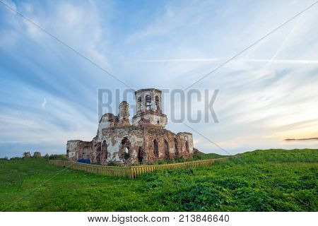 A very old ruined Church of the fifteenth century