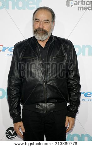 Mandy Patinkin at the Los Angeles premiere of 'Wonder' held at the Regency Village Theatre in Westwood, USA on November 14, 2017.