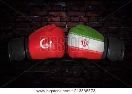 A Boxing Match Between