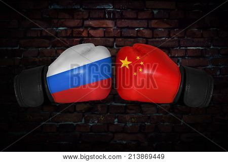 A Boxing Match Between The Usa And Russia