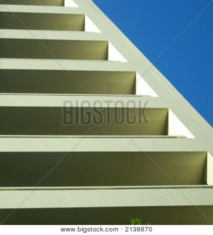 Abstract Building Or Stairs 1