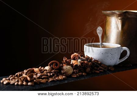 Coffee With Spices.