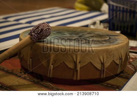 Ayahuasca Drum