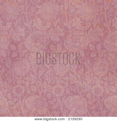 Background Mauve Floral Allover