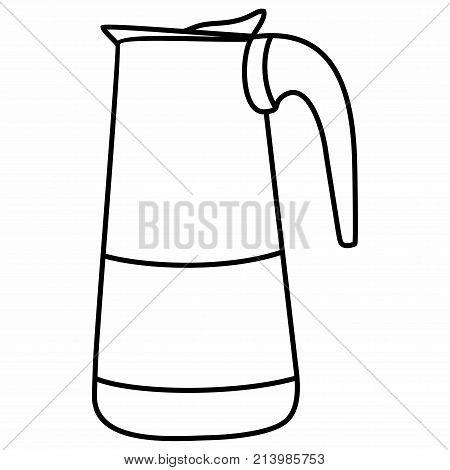 Mocha Percolator Coffee Pot Coffee Kitchen Machine poster