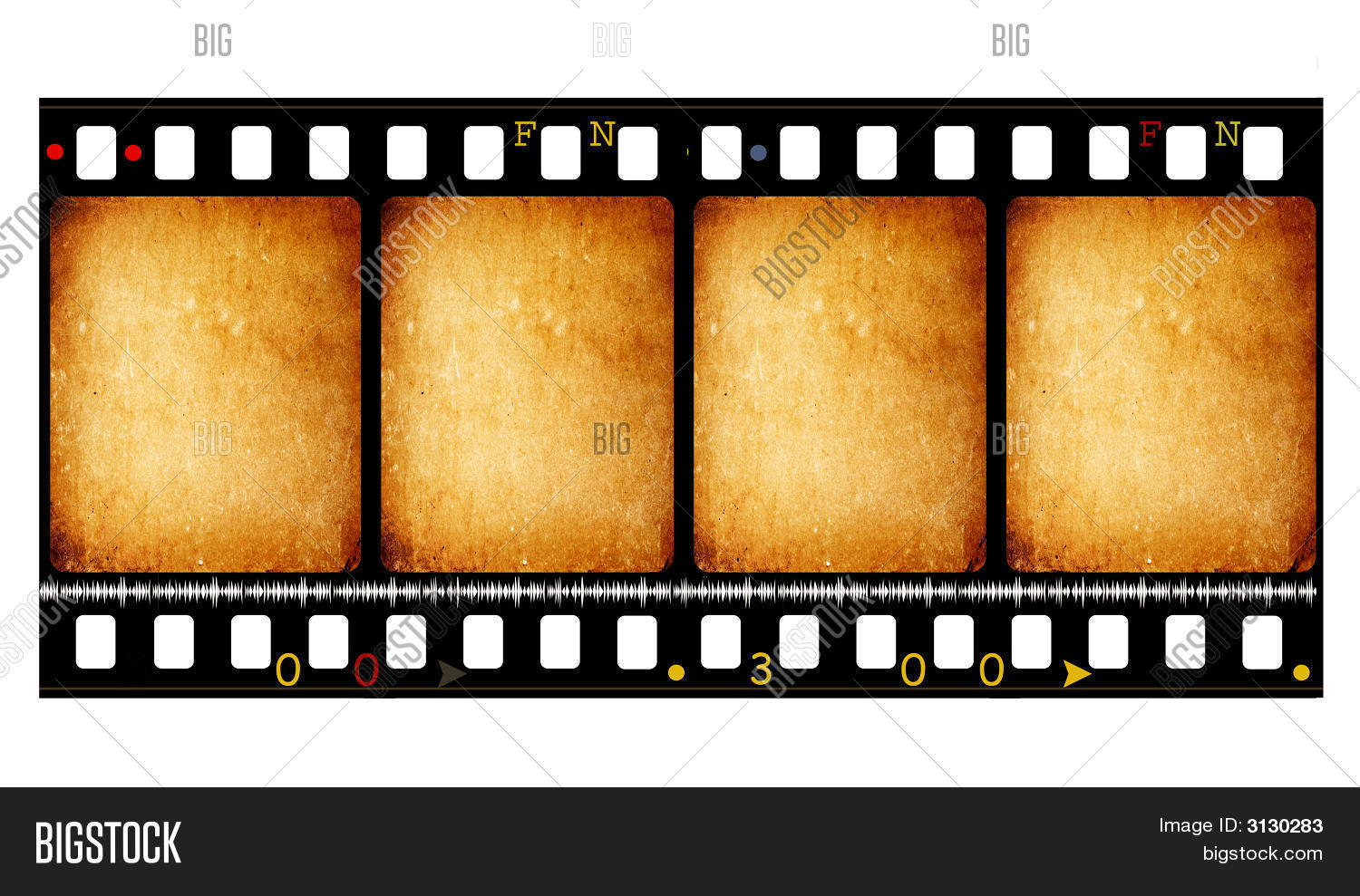 Old 35 Mm Movie Film Image & Photo (Free Trial)