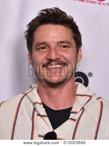 LOS ANGELES - JUL 20:  Pedro Pascal arrives for the Outfest 'Sell By' Premiere on July 20, 2019 in Hollywood, CA