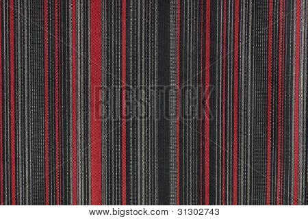 Red Striped Gra Fabric Texture