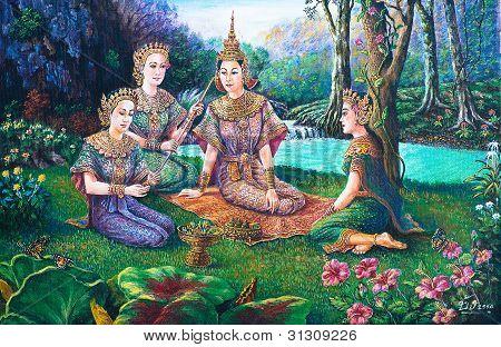 Thai Drama Dance