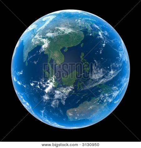 Planet Earth - Asia & Oceania