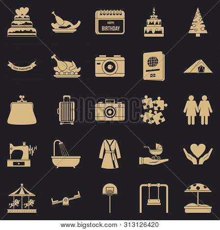 Supper Icons Set. Simple Set Of 25 Supper Icons For Web For Any Design