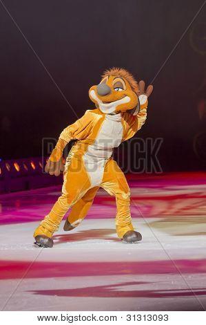 Timon On Skates