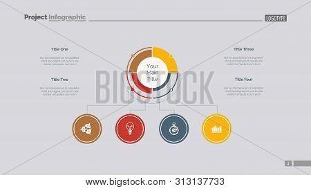 Branches Of Development Slide Template. Business Data. Graph, Diagram, Design. Creative Concept For