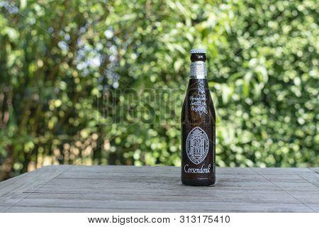 Sint Gillis Waas, 24 July 2019. Belgian Beer. Corsendonk Is A Belgian Beer Brand. The Beers Are Brew
