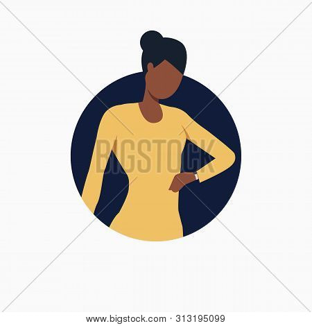 Businesswoman Looking At Watch. Time, Punctuality, Meeting. Business Concept. Vector Illustration Ca