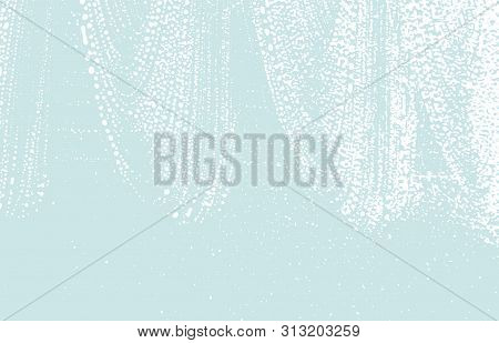 Grunge Texture. Distress Blue Rough Trace. Curious Background. Noise Dirty Grunge Texture. Uncommon