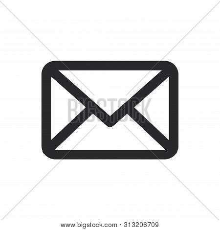 Envelope Icon Isolated On White Background. Envelope  Icon In Trendy Design Style For Web Site And M
