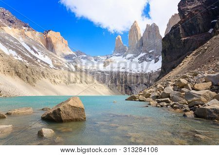 Torres Del Paine View, Base Las Torres Viewpoint, Chile