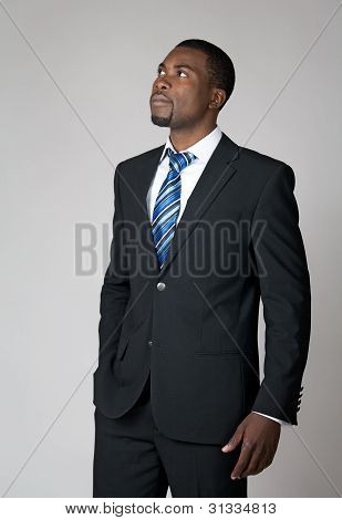 Businessman Envisioning The Future