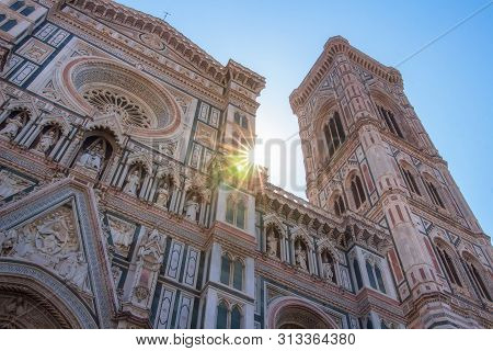 Florence, Italy. Florence Duomo Cathedral (cattedrale Santa Maria Del Fiore, Cathedral Of Saint Mary