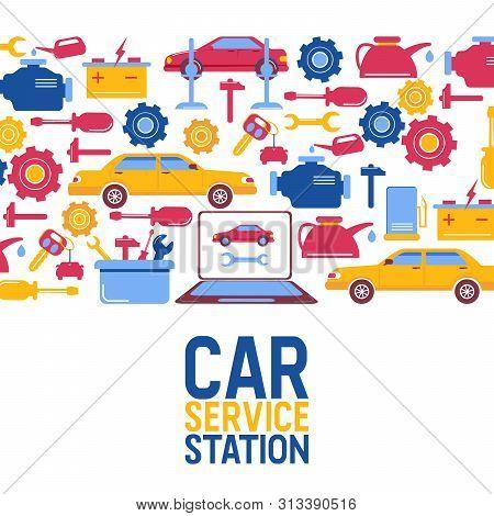 Car Repair And Maintenance >> Car Repair Vector Photo Free Trial Bigstock